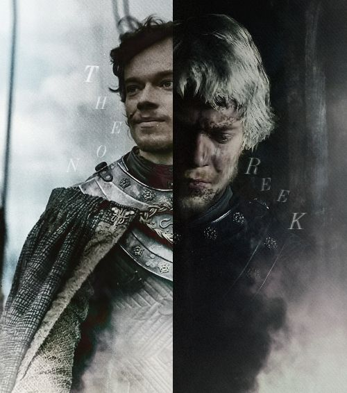 Every time Theon Greyjoy is on the screen I get a little sick. He made some very stupid choices, but he wasn't bad. I'd rather see a dozen characters die than a single one be broken.