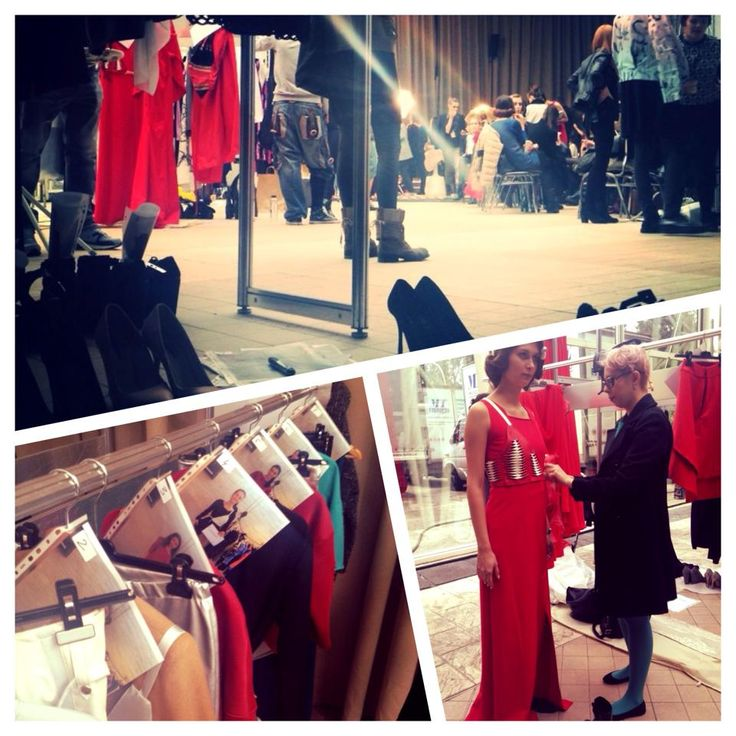A sneak peek from the backstage of the @bandofcreators fashion show, posting live! #trend #red #reddress #fallcollection #fw15 #runway #harness #leather #lineup #backstage #fashionshow #romaniandesign #romanianbrand #worldtradecencer #tramwork #proud #firstshow #newteam #biancageorgescu #persianshoes #comingsoon #sneakpeek