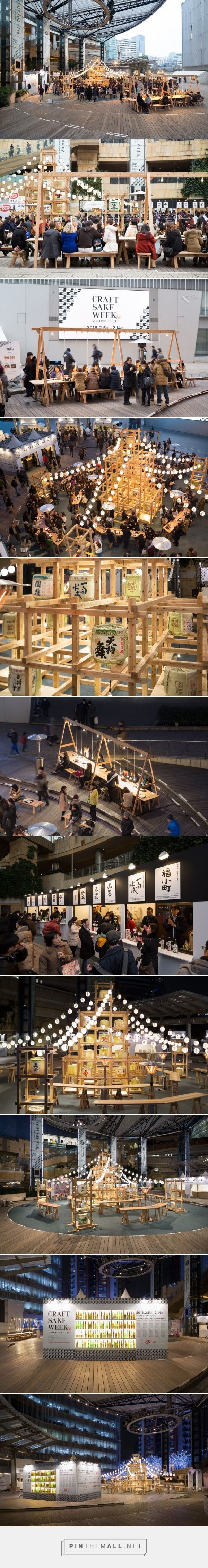 CRAFT SAKE WEEK 六本木ヒルズ屋台村 «  TORAFU ARCHITECTS トラフ建築設計事務所 - created via https://pinthemall.net