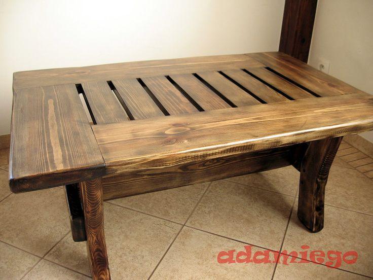 Ława+rustykalna,+stolik+w+adamiego+na+DaWanda.com
