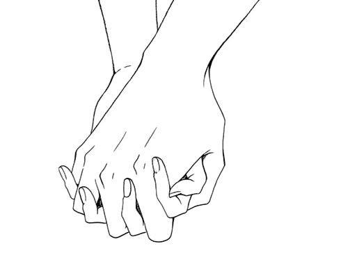 friends holding hands coloring pages - photo#48