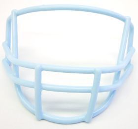 Quarterback/Wide Receiver Columbia Blue Face Mask Z157-747658030163
