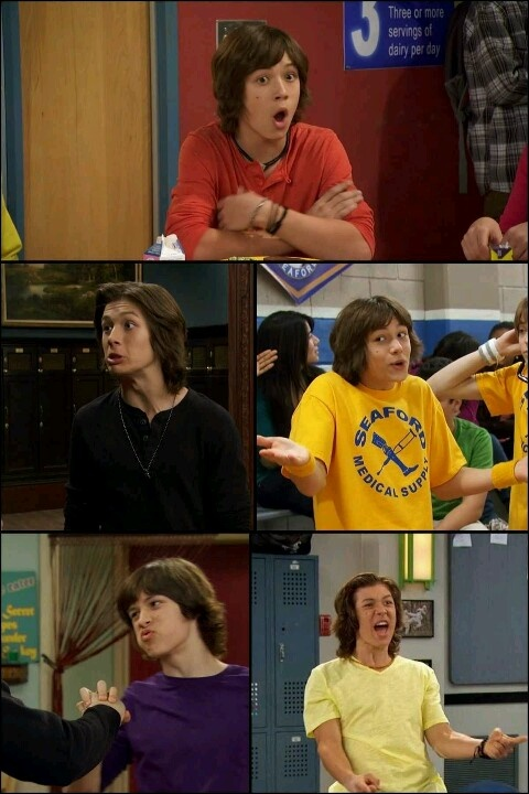 Leo Howard lol love the facial expressions