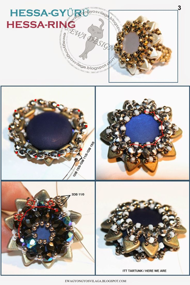 make beaded luxe download rings a beadedringscolor the sheet diy did pattern how this you
