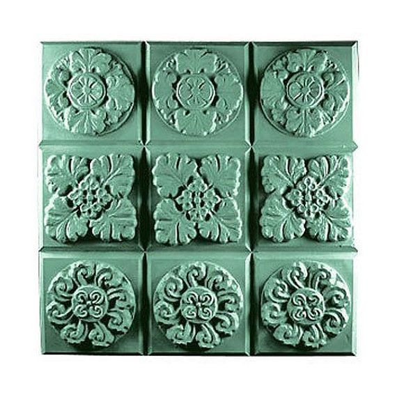 Gothic Flowers Soap mold ,Tray soap mold, Soapmaking supplies | Soapmaking mold | Handmade soaps, soapmaking, melt & pour, Cold process soap