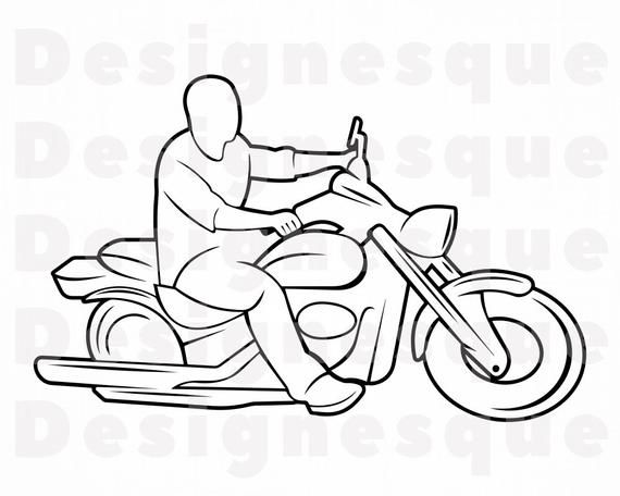 Motorcycle Outline 21 Svg Motorcycle Svg Motor Bike Svg