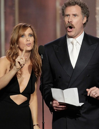 These two at the Golden Globes, wetting myself laughing!  You...get out of here!!