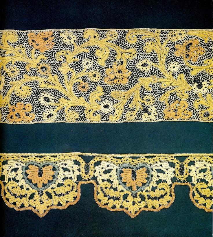 Lace.Late 18th century.Torzhok