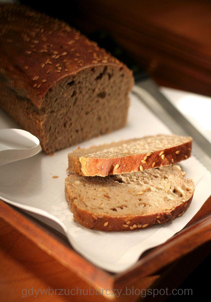 Chleb żytnio – orkiszowy na zakwasie