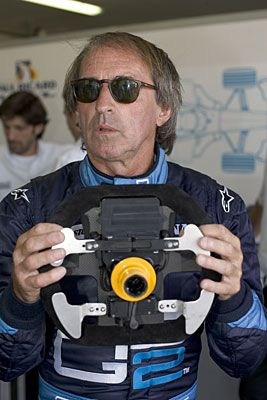 Jacques Laffite, GP2 Series Media Day, Paul Ricard; Tuesday June 28th, 200