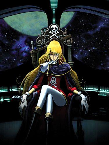 Esmeralda la femme pirate dans Albator 84, le corsaire de l'espace