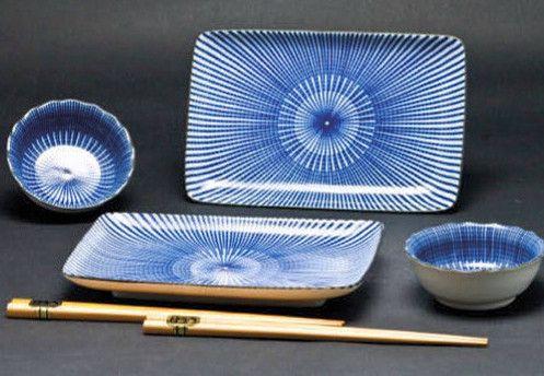 Concept Japan Yaguruma Togusa Set - blue – The Tangerine Fox