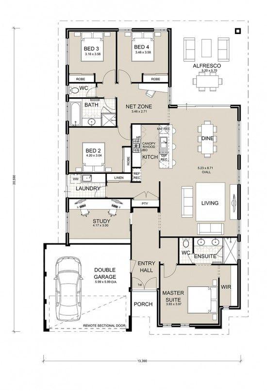 2719 best floor plans images on pinterest floor plans - Kitchen and dining area design crossword ...