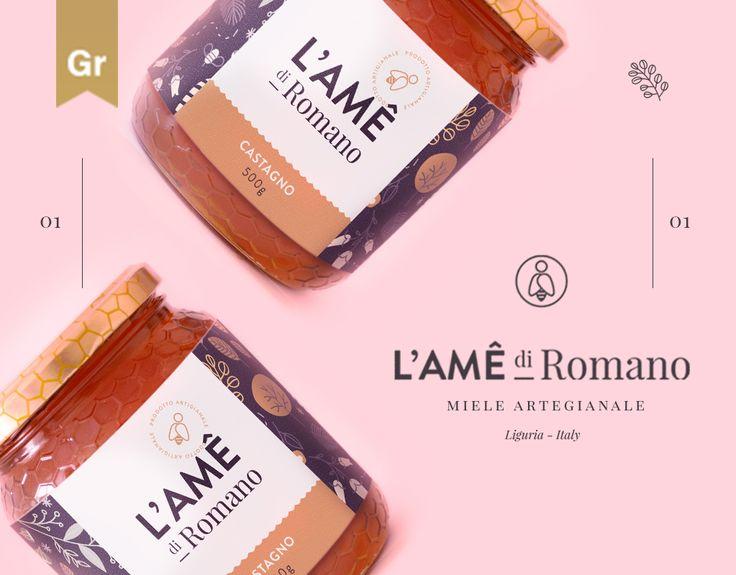다음 @Behance 프로젝트 확인: \u201cL'Ame Honey — Brand Identity & Packaging\u201d https://www.behance.net/gallery/36648879/LAme-Honey-Brand-Identity-Packaging