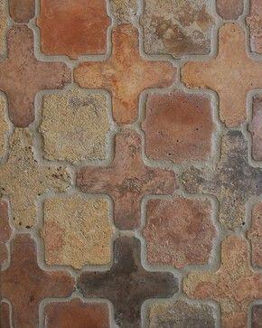 Arabesque Pattern 11 a in Normandy Cream - mediterranean - floor tiles - los angeles - ARTO