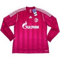 2011-13 Schalke Player Issue Third L/S Shirt *w/Tags* , From CLASSIC FOOTBALL SHIRTS LIMITED , CLASSIC FOOTBALL SHIRTS LIMITED