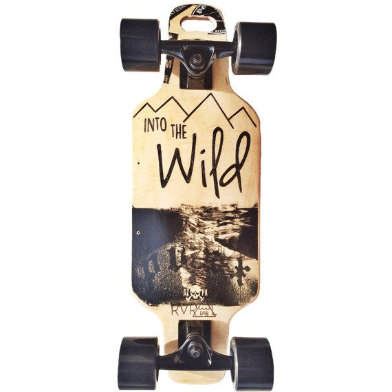 Upcycled Mini Cruiser Board by RVRAL on Etsy I'd like to ride on this... Just to test it out.
