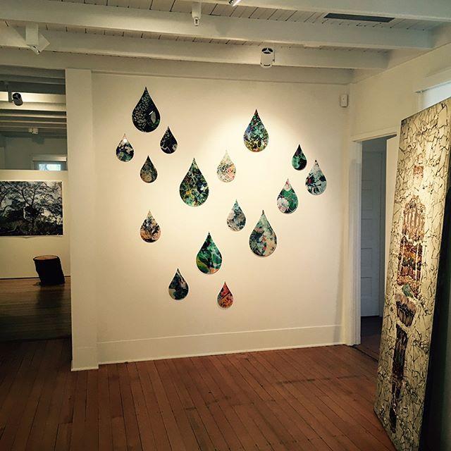 Weather on Steroids exhibit at the La Jolla Historical Society #climatechange #artspeaksout #lajolla #johncolesbookshop #wisteria #lajollalocals #sandiegoconnection #sdlocals #sandiegolocals - posted by Beth De Bona = @bethdebona @sdconnection