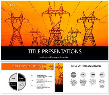 8 best powerpoint templates images on pinterest role models fundamentals of electricity powerpoint template toneelgroepblik Choice Image