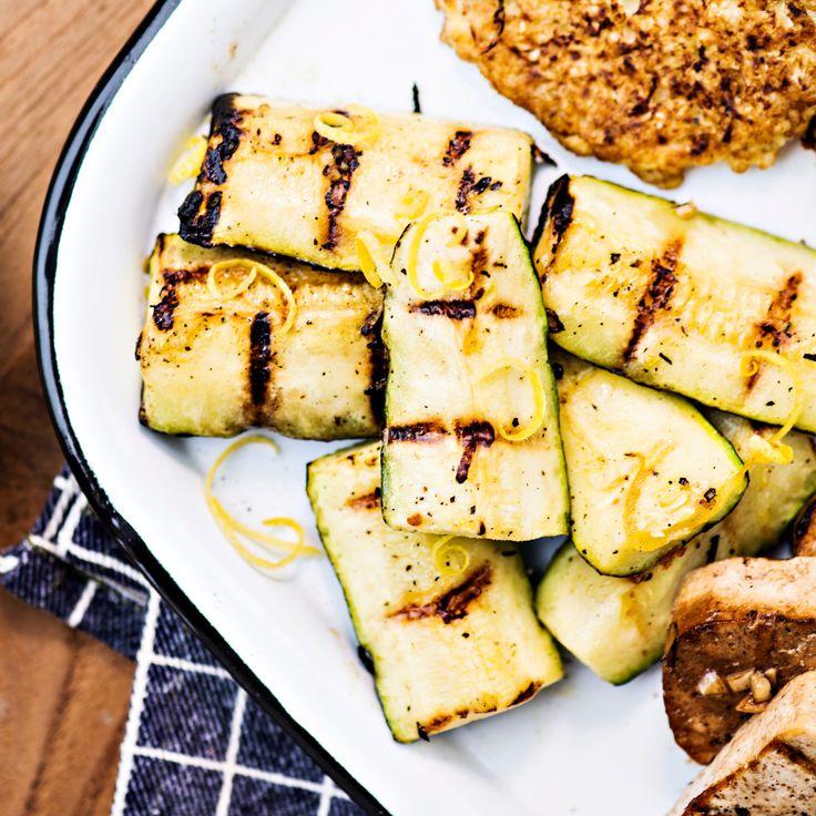 Grillattu kesäkurpitsa | K-ruoka #grillaus #kasvisresepti