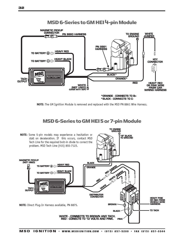 MSD    Ignition       Wiring       Diagrams      1966 Chevelle      Diagram
