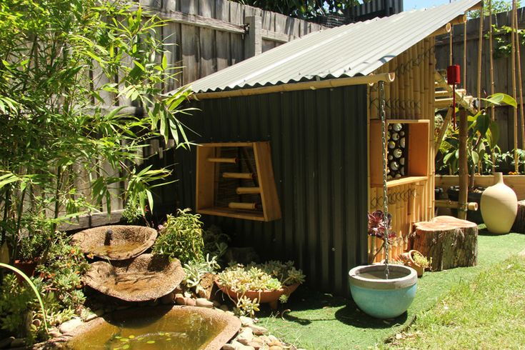 Bamboo Eco-Cubby - Giant Grass