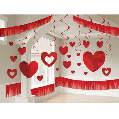 Valentine's Day Foil Giant Room Decoration Kit