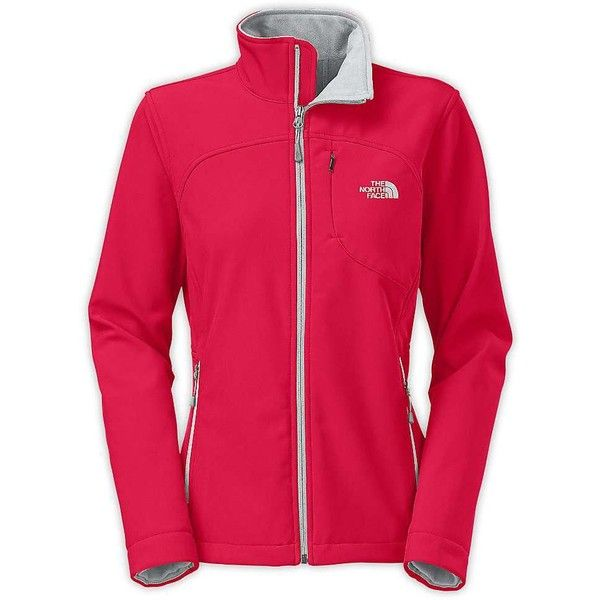 The North Face Women's Apex Bionic Jacket ($149) ❤ liked on Polyvore featuring activewear, activewear jackets, rose red, the north face, women activewear and columbia sportswear