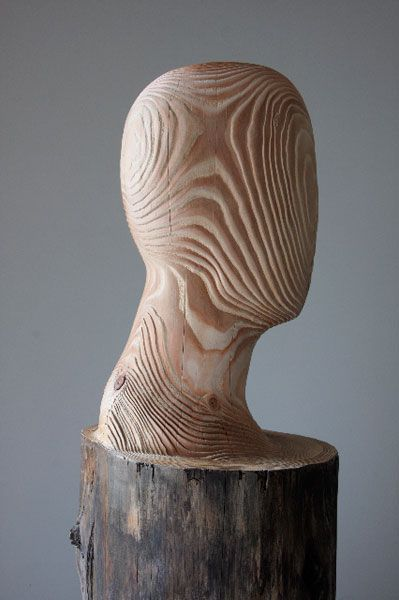 Sculpture by Patrick Meylaerts. I need a few of these to display my hair wreaths on :)