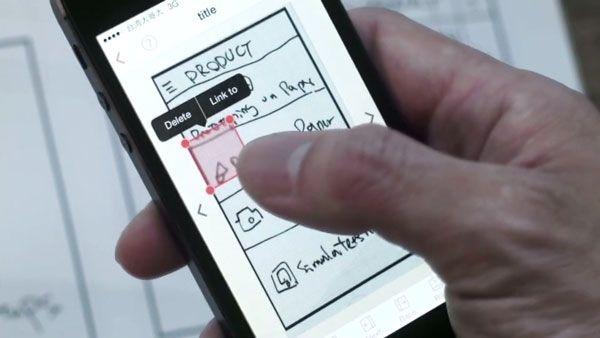 POP App : une application qui donne vie à vos wireframes papier