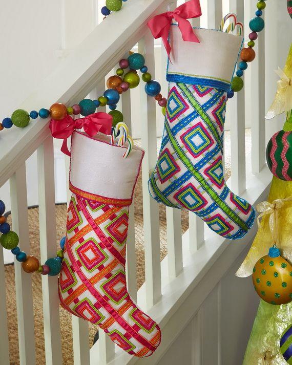 Ideas For Christmas Stockings 141 best christmas stockings images on pinterest | christmas ideas