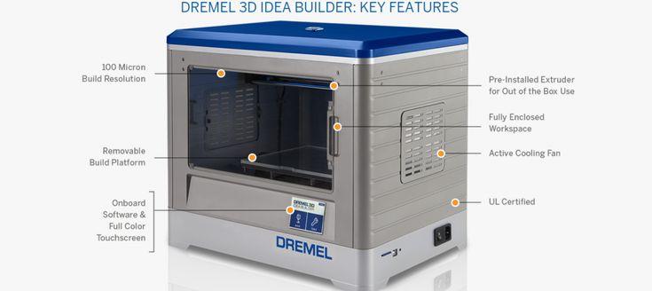 Power Tool Giant Dremel Launches the 3D Idea Builder 3D Printer & Ecosystem http://3dprint.com/15578/dremel-3d-idea-builder-printer/