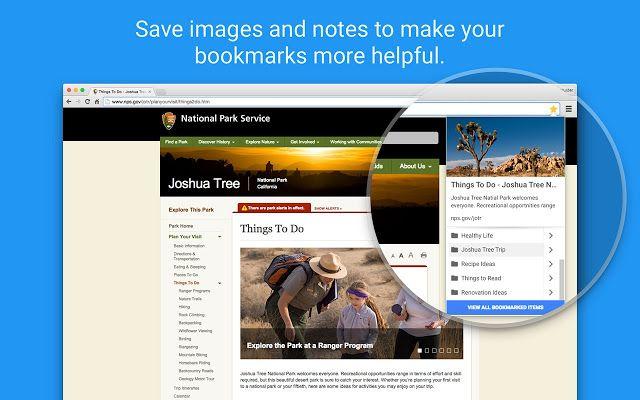 Bookmark Manager Google 제공