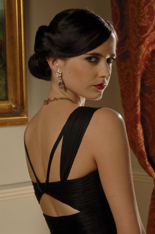 Years later and I would still give my left arm for Eva Green's wardrobe in Casino Royale.  Versace (Mix Chicks Updos)