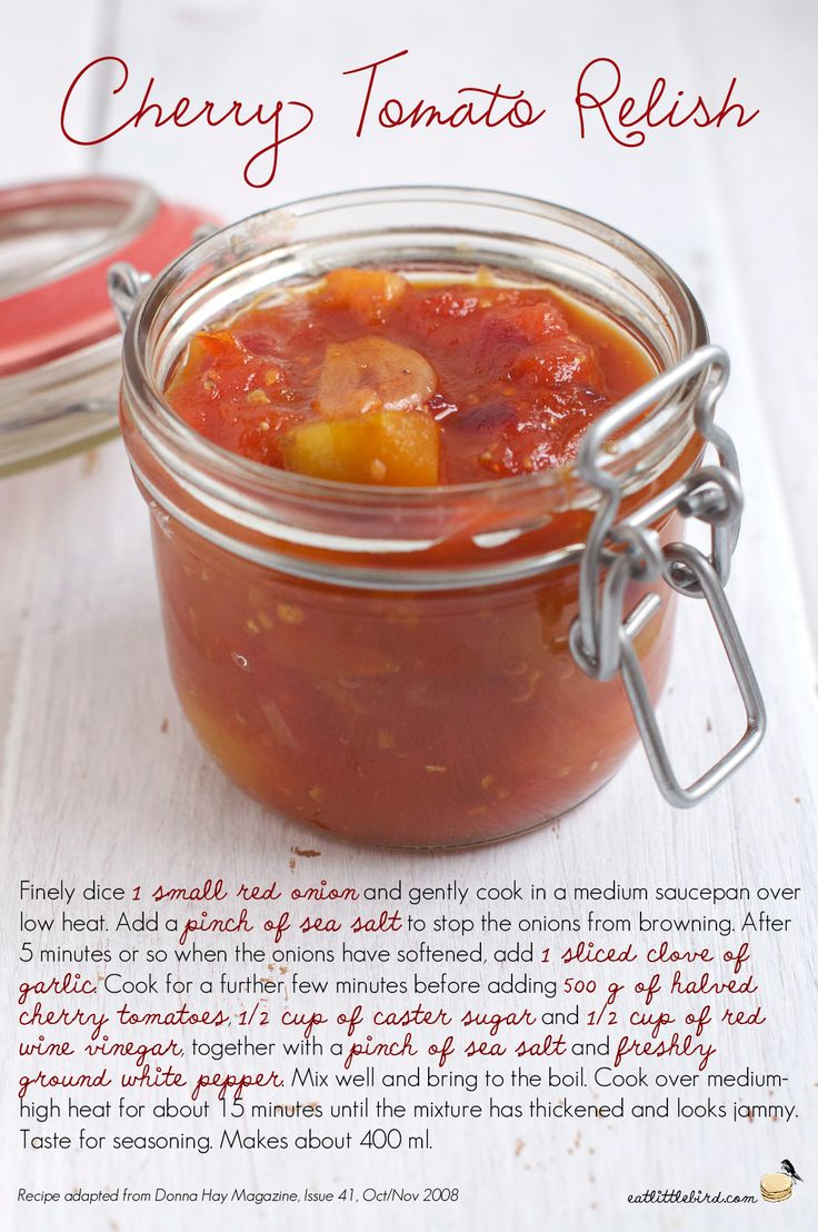 Cherry-Tomato-Relish