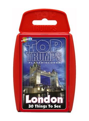 Top Trumps - London 30 Things To See Preview