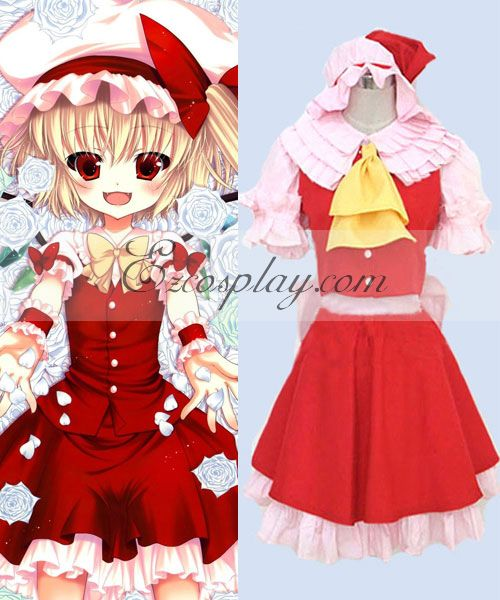 Touhou Project Flandre Scarlet cosplay costume #Everyone Can Cosplay! Cosplay costumes #Anime Cosplay Accessories #Cosplay Wigs #Anime Cosplay masks #Anime Cosplay makeup #Sexy costumes #Cosplay Costumes for Sale #Cosplay Costume Stores #Naruto Cosplay Costume #Final Fantasy Cosplay #buy cosplay #video game costumes #naruto costumes #halloween costumes #bleach costumes #anime