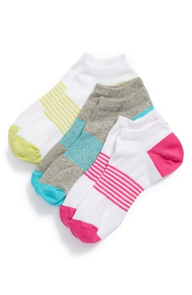Zella Girl Liner Socks (3-Pack) (Little Girls & Big Girls) | Nordstrom