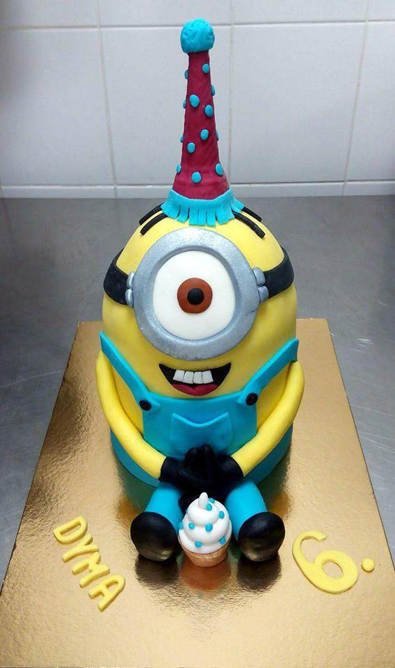 Dětský narozeninový dort na zakázku z cukrárny Moje cukrářství