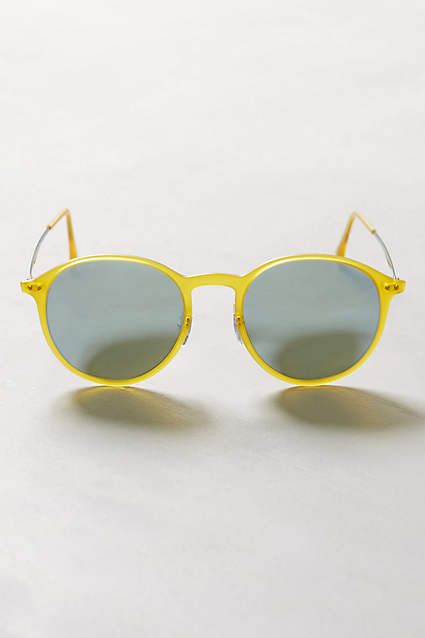 Ray-Ban LightRay Round Sunglasses - anthropologie.com