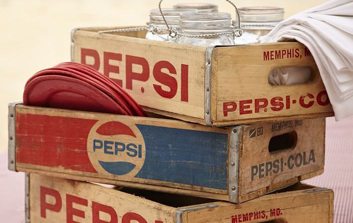 7 ways to repurpose old soda crates crates soda and for Wooden soda crate ideas