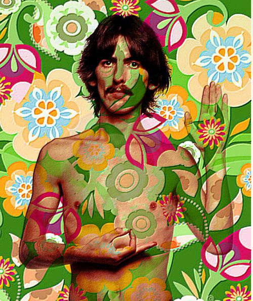 George Harrison psychedelic