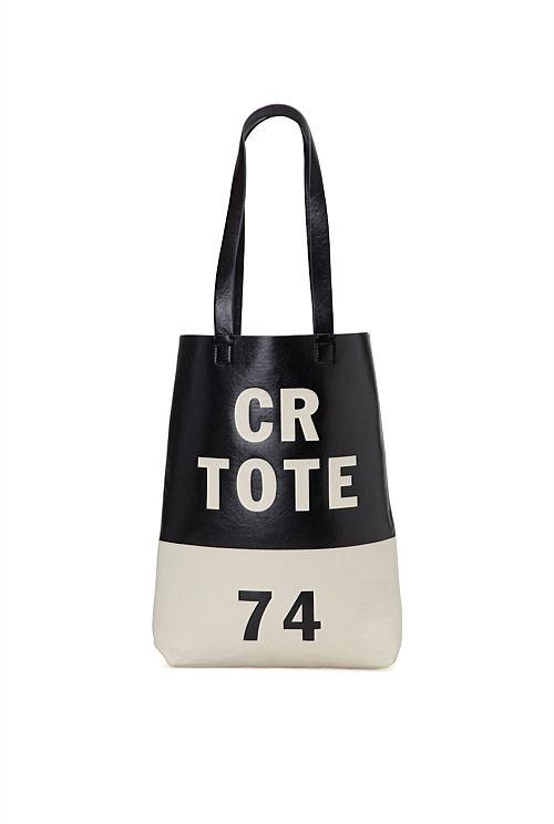 Country Road Logo Shopper Tote