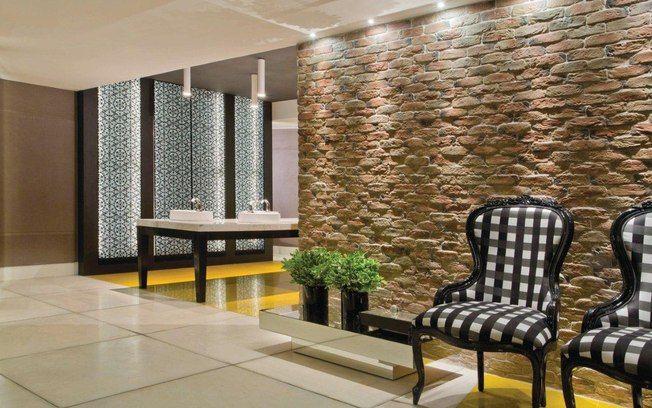 decoracao tijolo branco : decoracao tijolo branco:Texturas e tijolos aparentes dão novos ares às paredes da casa