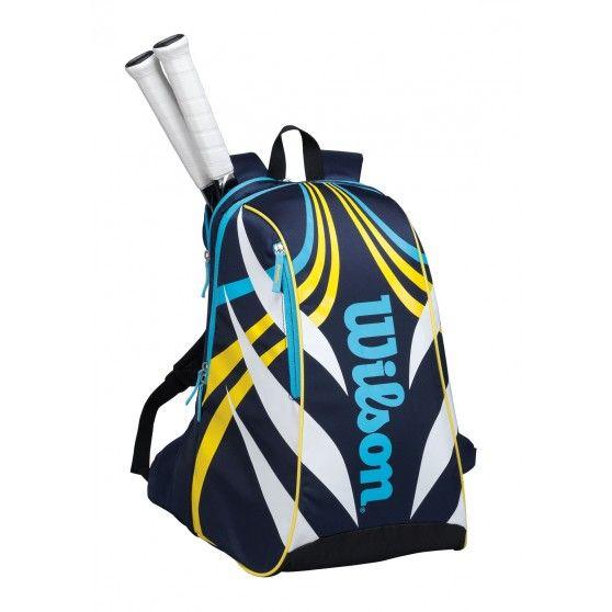 De Topspin backpack #tennistas is een handige tas in rugzakformaat. In deze tas van @Wilson Tennis is ruimte voor 2 #tennisrackets. #dws