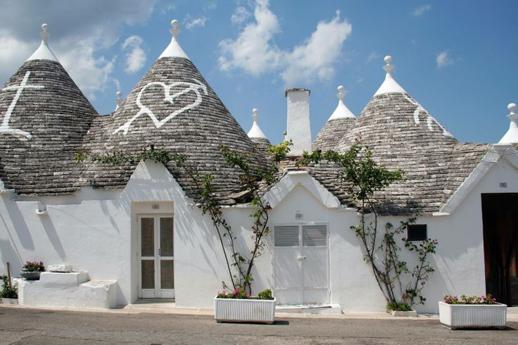 No wonder why Alberobello is famous for its unique trulli (conical) roofs