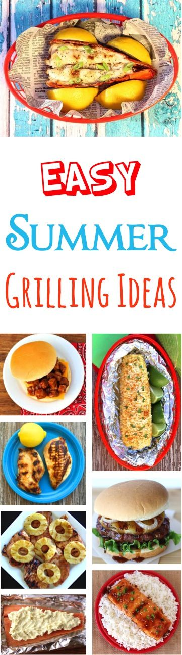 Summer Grilling Recipes! Lobster, Burgers, Seafood, Steak, Chicken, Corn, and more!