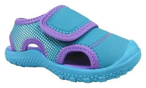 Cat & Jack Toddler Girls' Water Shoes Turquoise