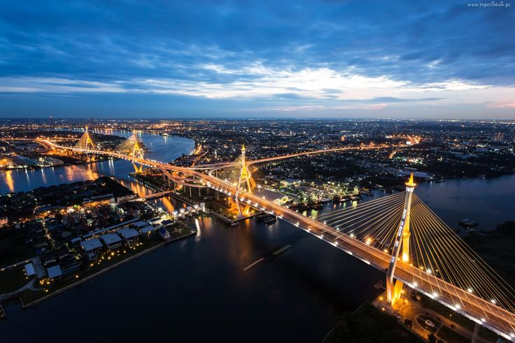 Tajlandia, Most, Bangkok