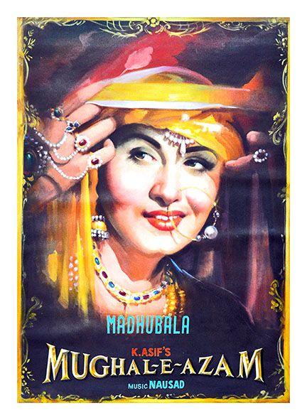 "Mughal E Azam..! Artist - Salim Khan Size - 30"" x 40"" Medium - Poster Colour on Canvas www.worldarthub.com #thearthub #paintings #Poster_Colour_on_Canvas #Canvas #Poster #Salim_Khan #Guest_Room #print #indianartist #artgallery #worldart #mumbai #Buyonline #Online #Onlineshop #Mughal_E_Azam #Madhubala"